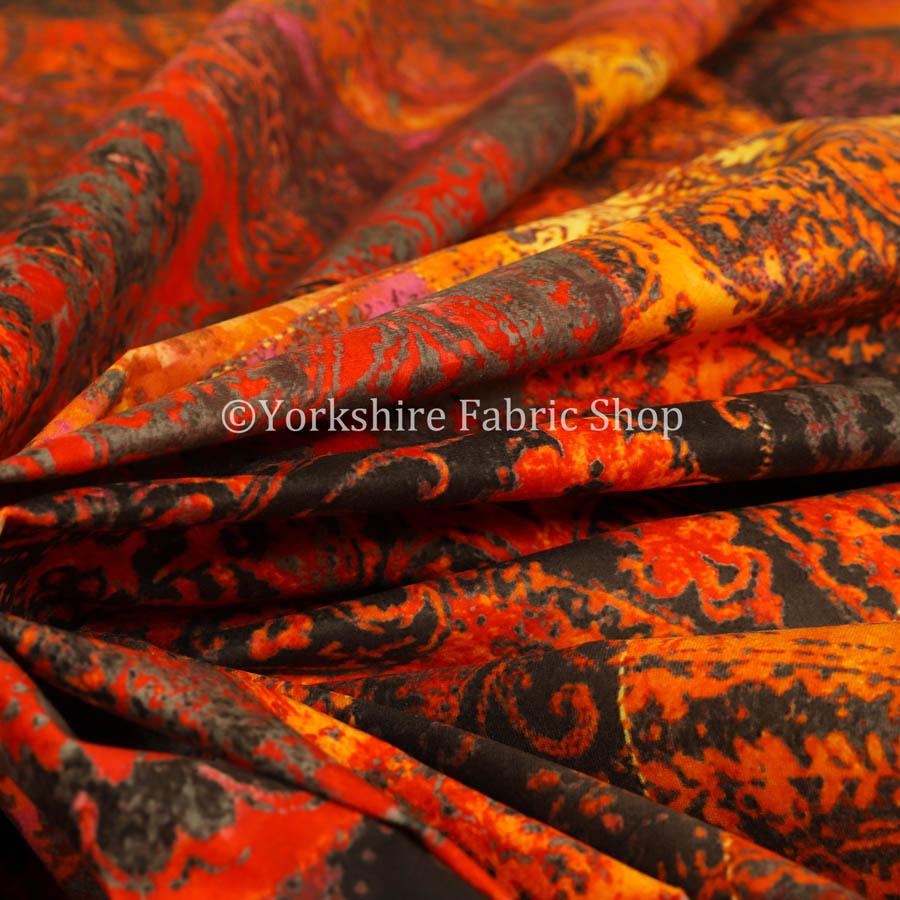 Amalfi Patchwork Velvet Fabrics